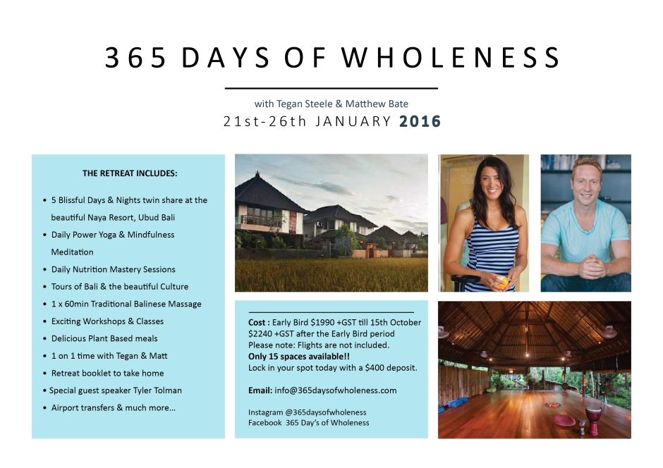 365 Days Bali Retreat Flyer 2 A4 3